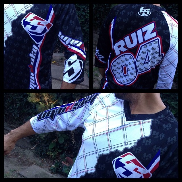 Racing LS jersey. $75.00 plus shipping. (Customize it with your name and number on back.) Send email to julio@liquidskysports.com with size, name and number you like #liquidskysports